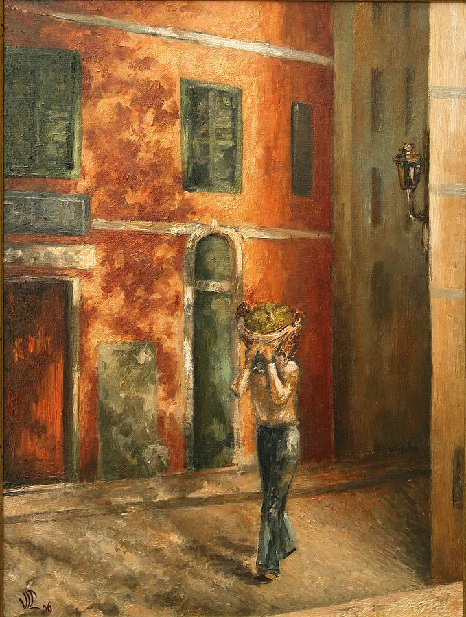 Painting Painting - The Harvest by Vali Irina Ciobanu