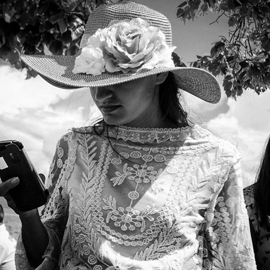 Fashion Photograph - The Hat by Aleck Cartwright