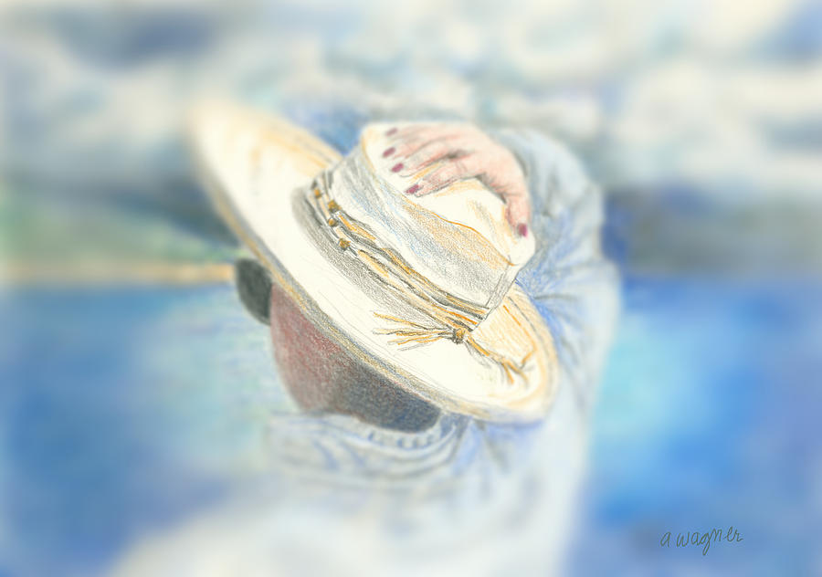 Hat Mixed Media - The Hat by Suzanne Blender