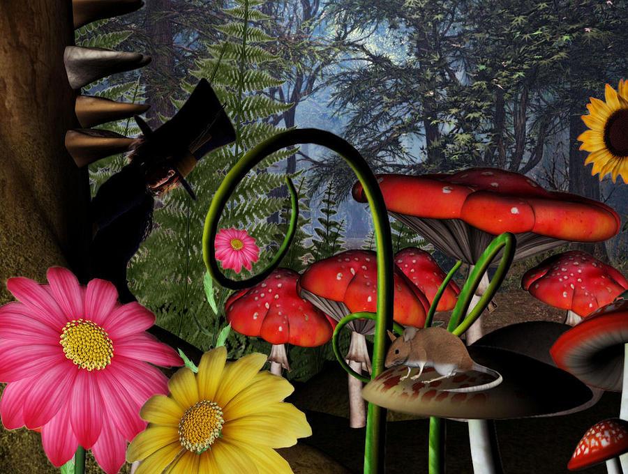 The Hatter  Digital Art by Lisa Roy