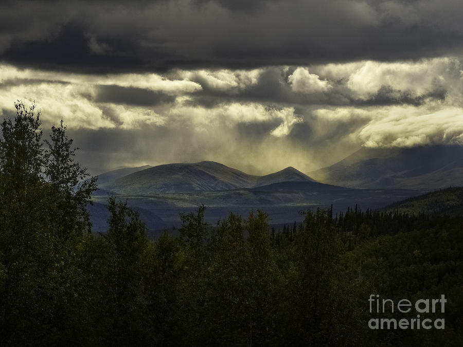 Alaska Photograph - The Heavens And The Earth by Teresa A and Preston S Cole Photography