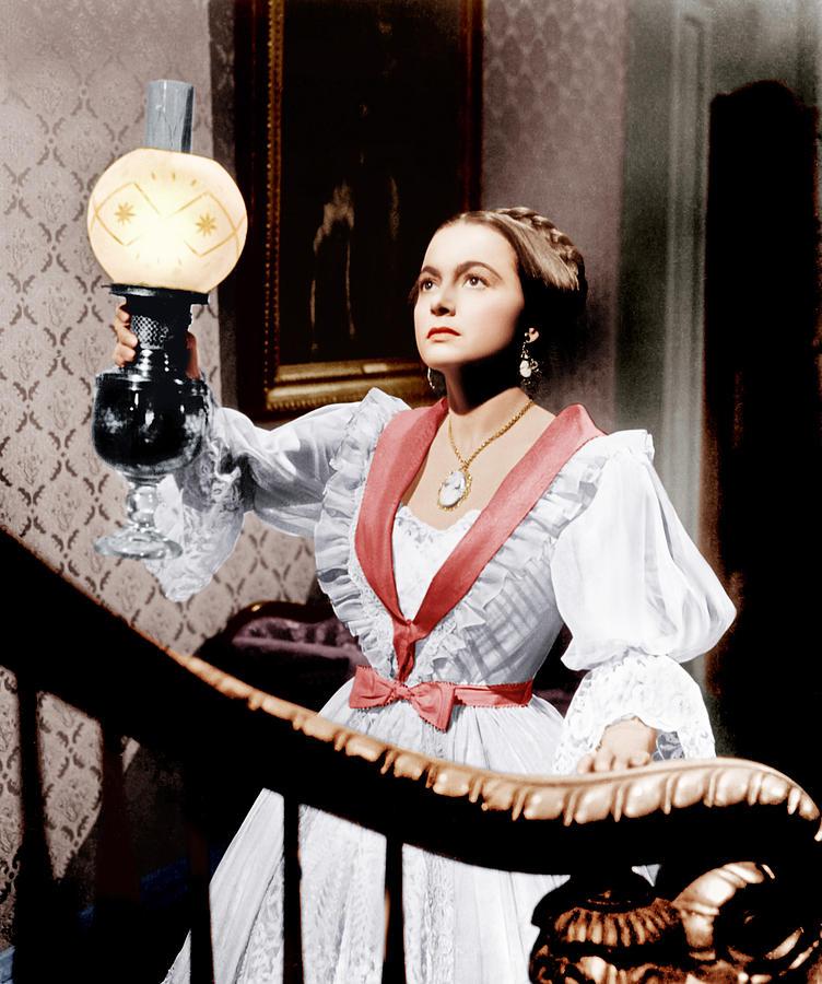 1940s Movies Photograph - The Heiress, Olivia De Havilland, 1949 by Everett