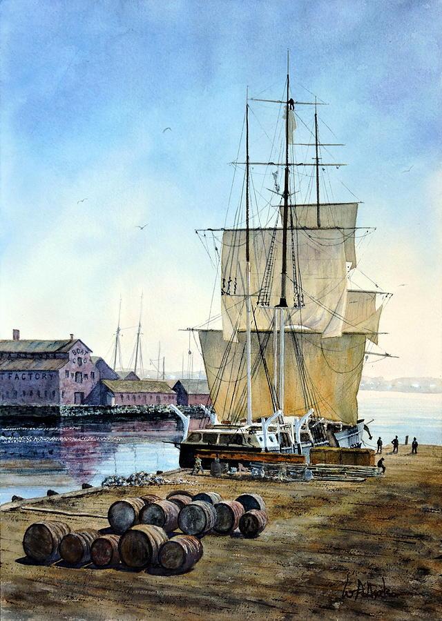 Maritime Painting - The Helen Mar by Bill Hudson
