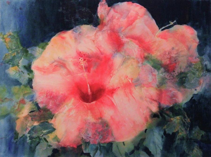Sharon Painting - The Hibiscus by Sharon K Wilson