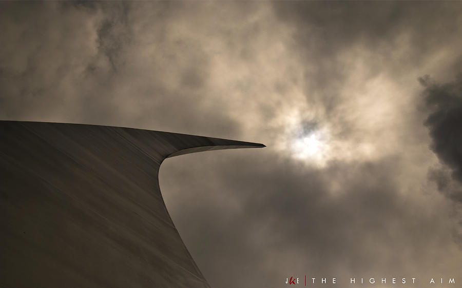 Air Force Photograph - The Highest Aim by Jonathan Ellis Keys