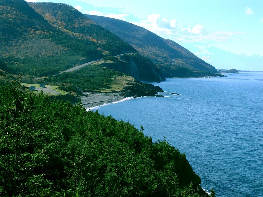 Cape Breton Island Photograph - The Hills Of Home by George Cousins