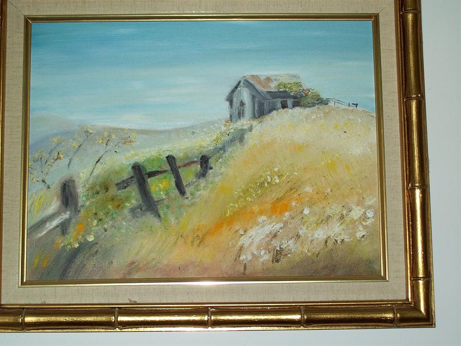Hillside Painting - The Hillside by Lin Lenzi Masters