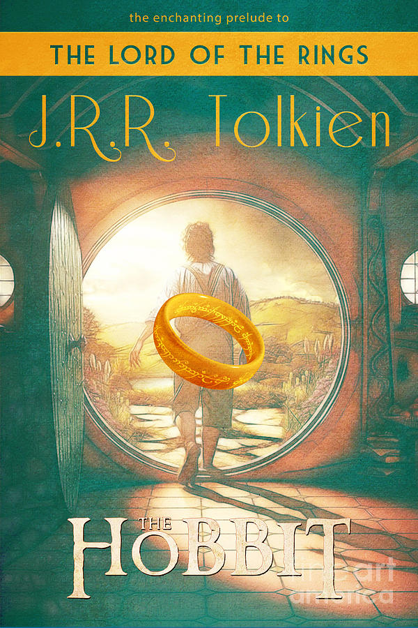 Hobbit Book Cover Art ~ The hobbit lord of rings book cover movie poster art