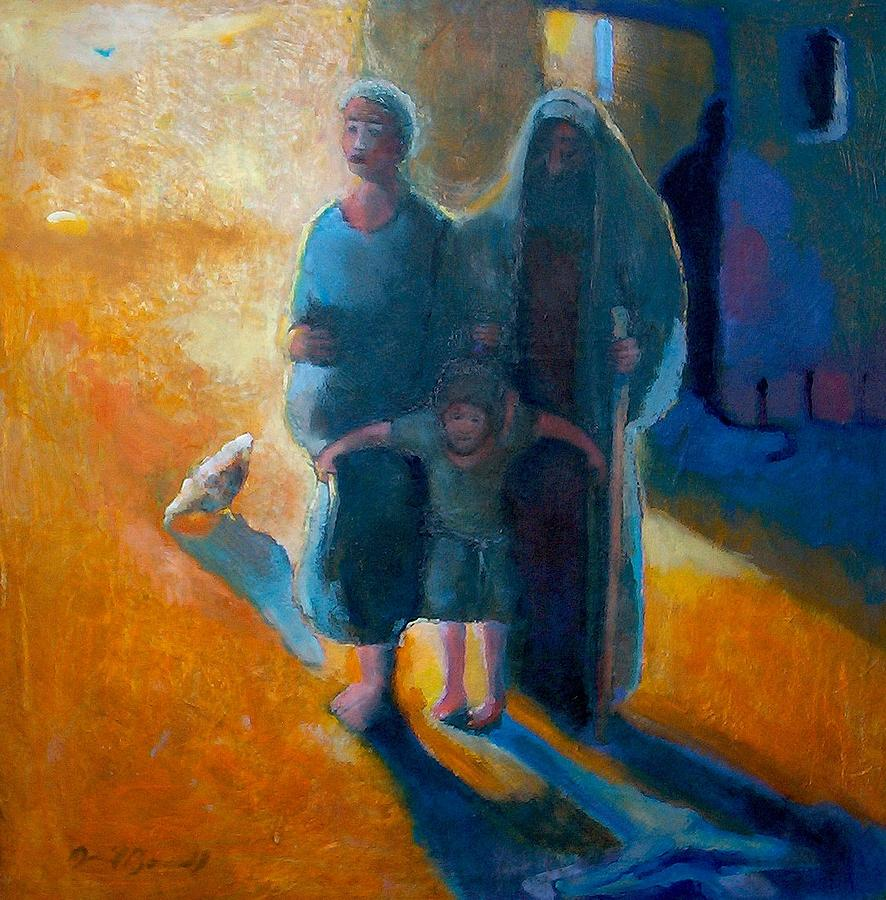 Jesus Painting - The Holy Family by Daniel Bonnell