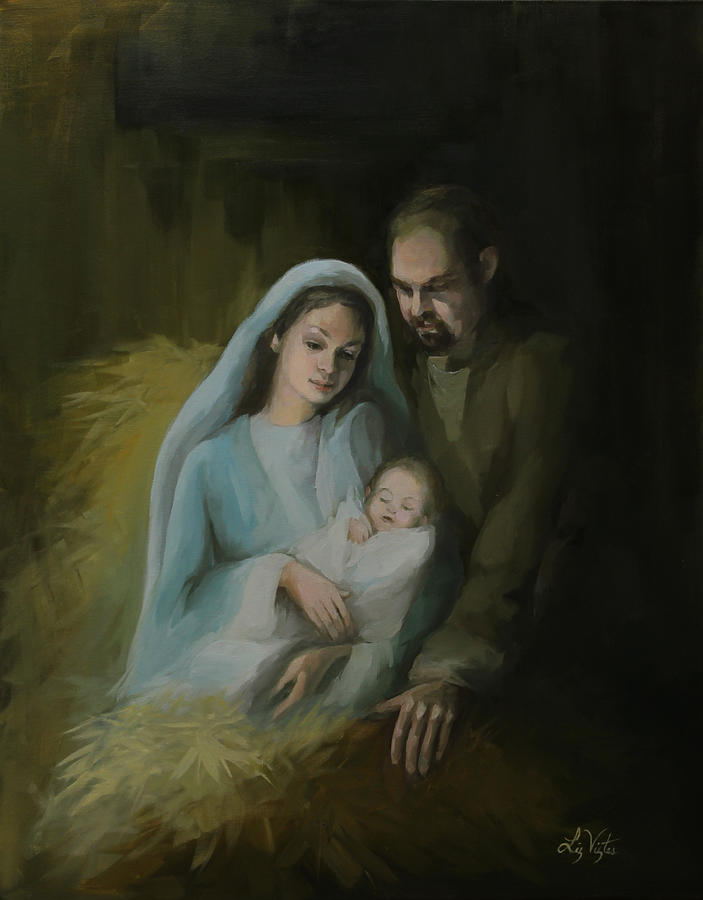 The Holy Family by Liz Viztes