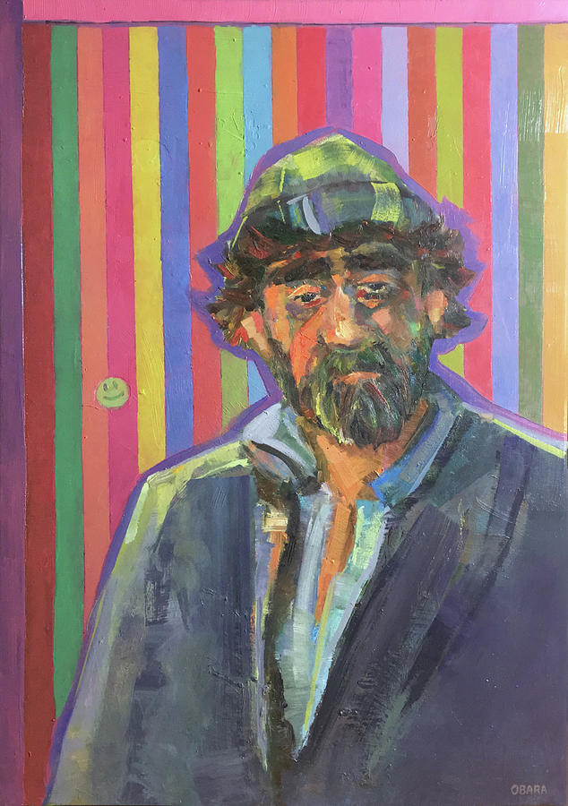 Portrait Painting - The Homeless by Igor Obara