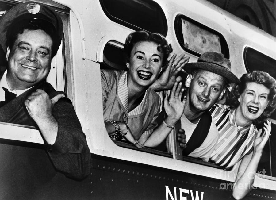 1955 Photograph - The Honeymooners, C1955 by Granger