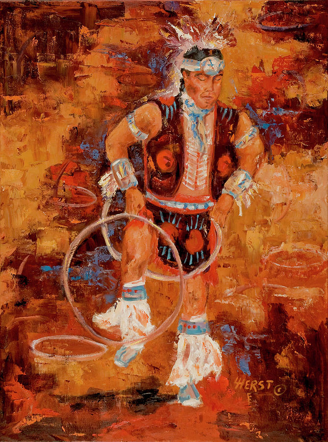 The Hoop Dancer by LC Herst
