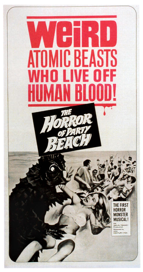 1964 Movies Photograph - The Horror Of Party Beach, 1964 by Everett