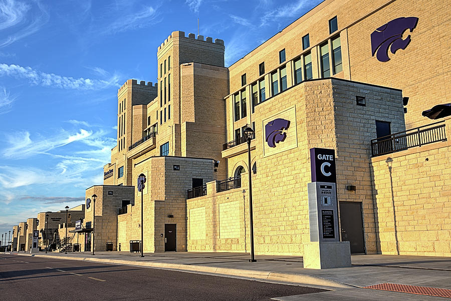 Bill Snyder Family Stadium Photograph - The House That Bill Built  by JC Findley