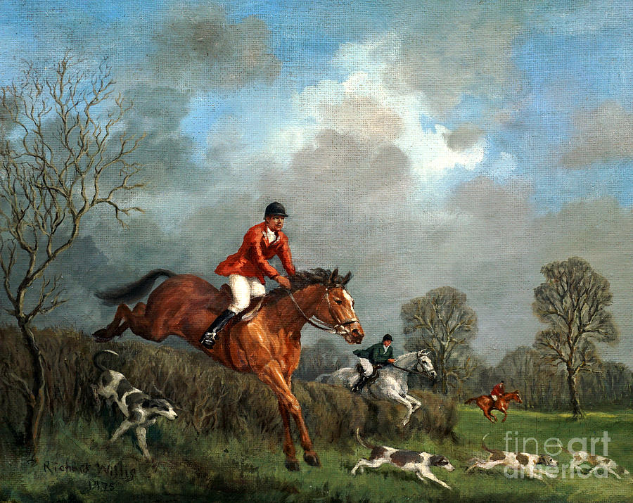 Fox Hunting Painting - The Hunt by Richard Willis