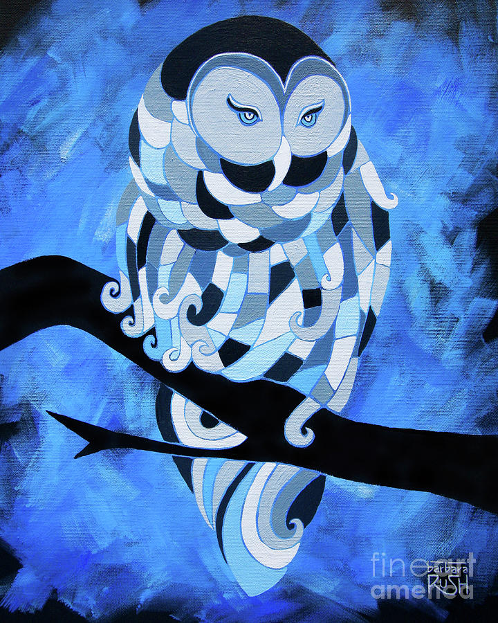 The Ice Owl by Barbara Rush