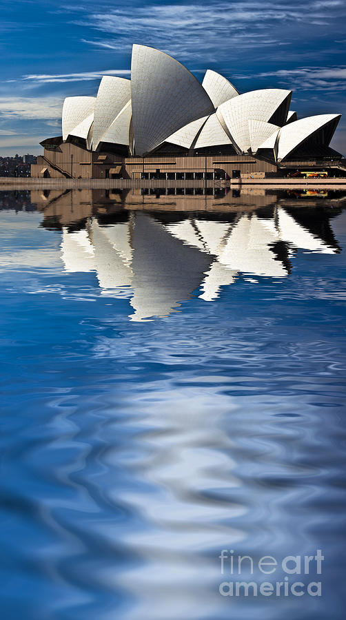 The Iconic Sydney Opera House Photograph by Avalon Fine Art Photography
