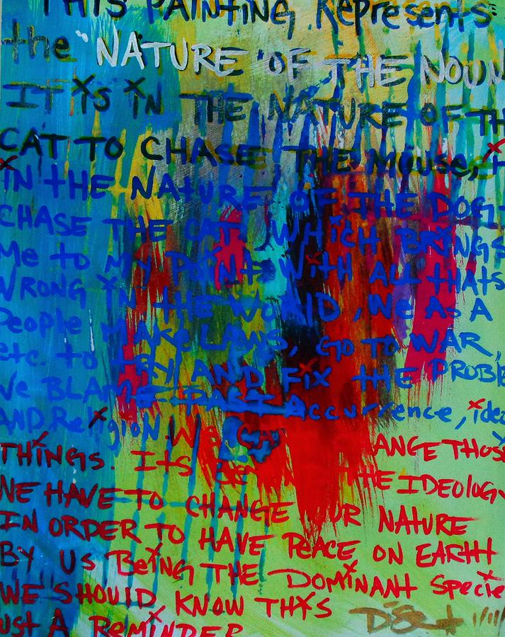 Idea Painting - The Idea by Dane Newton