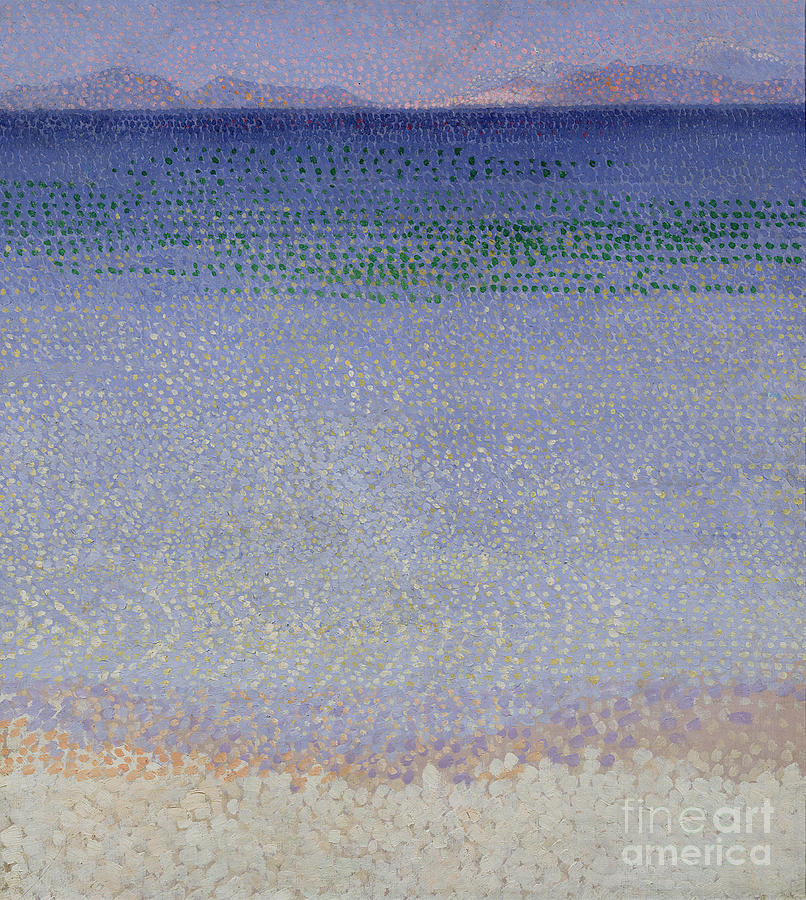 Var Painting - The Iles Dor by Henri Edmond Cross