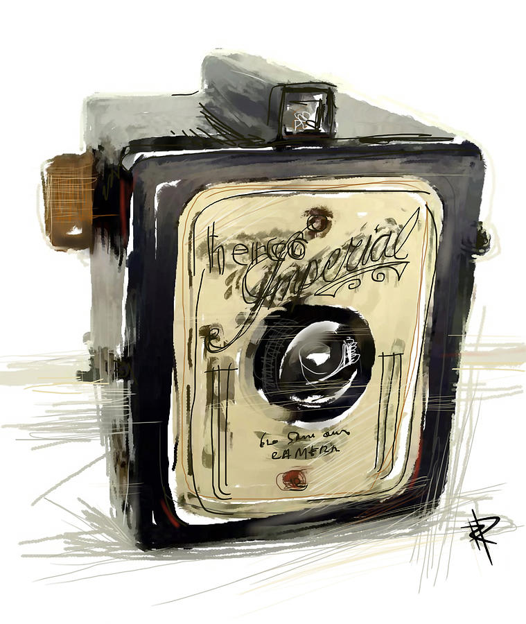 Camera Mixed Media - The Imperial by Russell Pierce