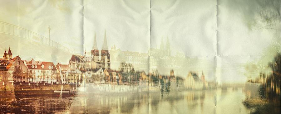 Double Exposure Photograph - The Imprint by Radek Spanninger