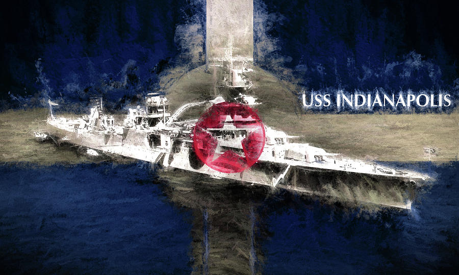 Uss Indianapolis Photograph - The Indianapolis by JC Findley