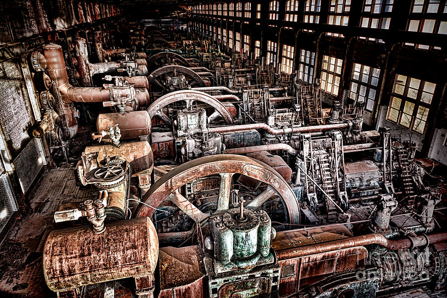 Industrial Photograph - The Industrial Age by Olivier Le Queinec