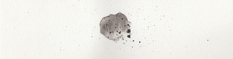 Ink Painting - The Inexplicable Ignition Of Time Expanding Into Free Space Phase One Number 6 by Mark M  Mellon