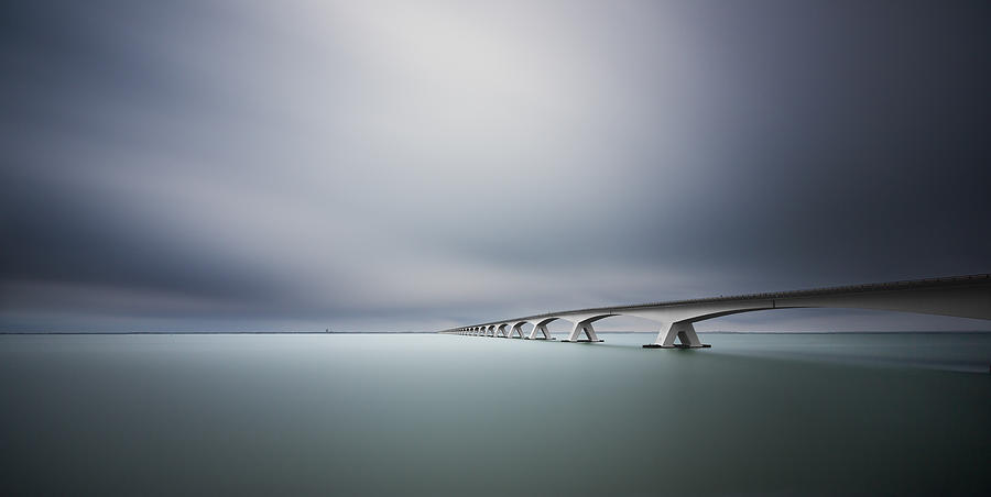 Landscape Photograph - The Infinite Bridge by Arthur Van Orden