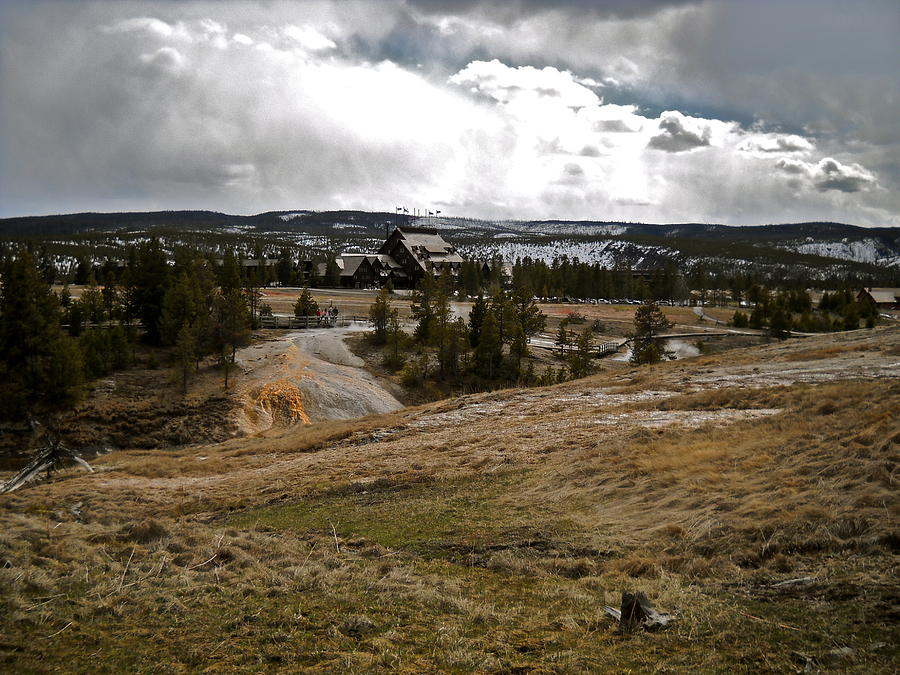 Yellowstone National Park Photograph - The Inn 2010 by Kimberly Baird