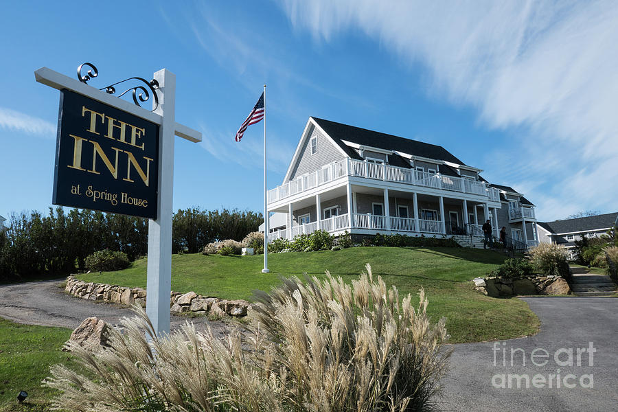 Rhode Island Photograph   The Inn At Spring House Beautiful Inns And Hotels  On Block Island