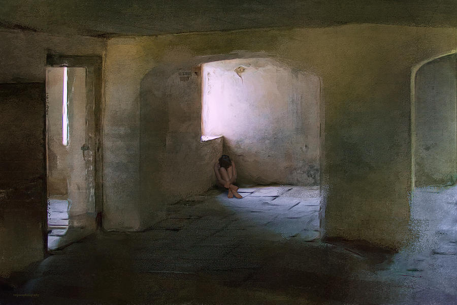 Loneliness Photograph - The Inner Place by Ron Jones