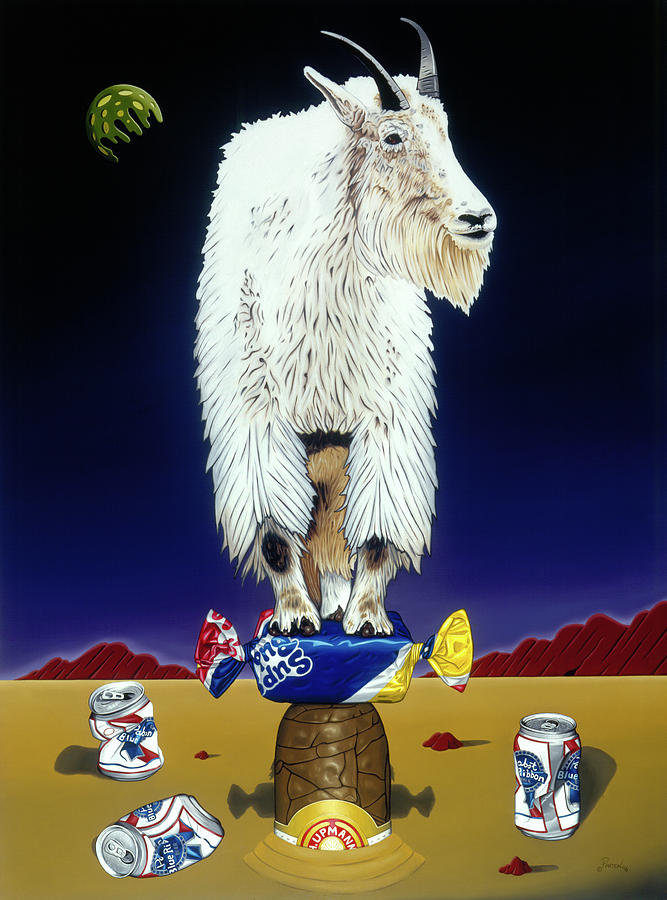 The Intoxicated Mountain Goat by Paxton Mobley