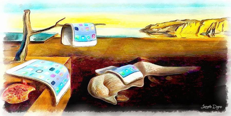 The Iphone Surrealism Painting