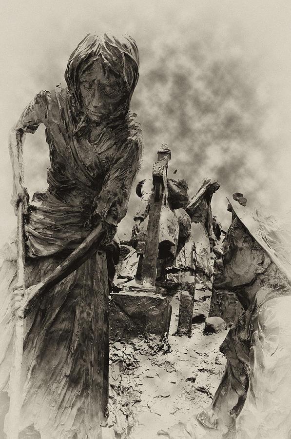 Philadelphia Photograph - The Irish Famine by Bill Cannon