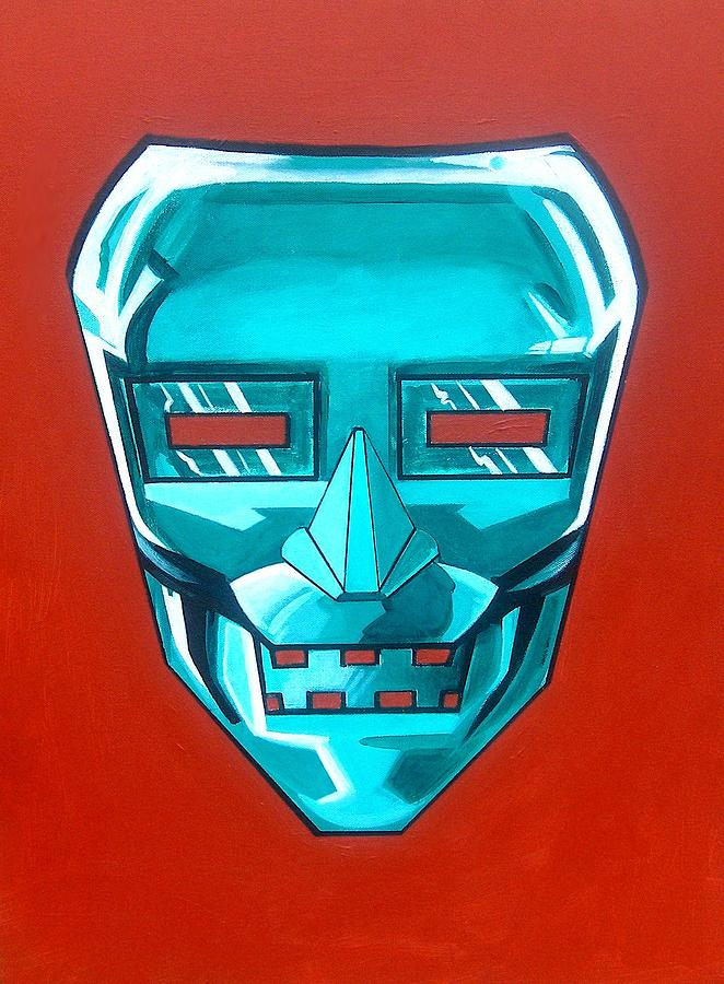 Fantasy Painting - The Iron Mask by George Penon Cassallo