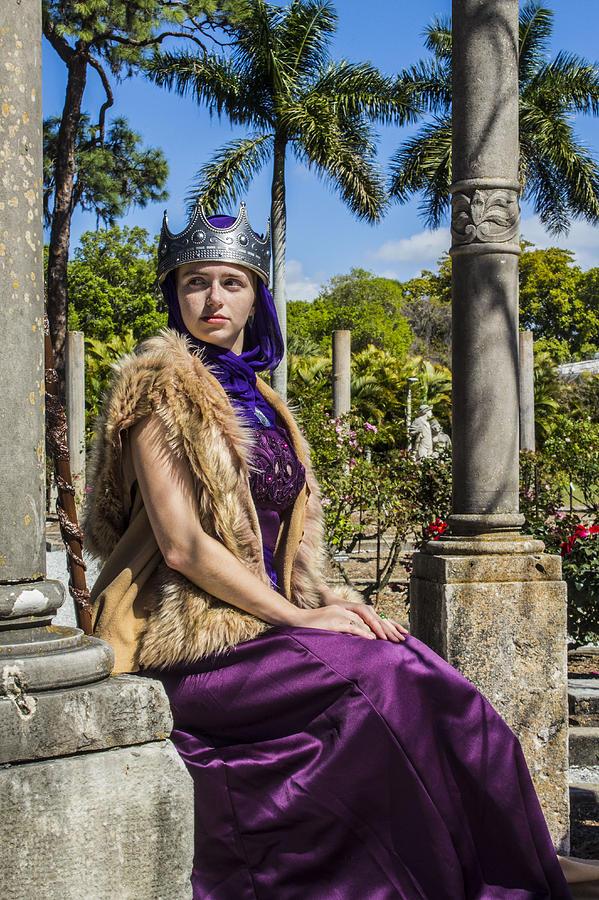 Queen Photograph - The Iron Queen by Matthew Hammers