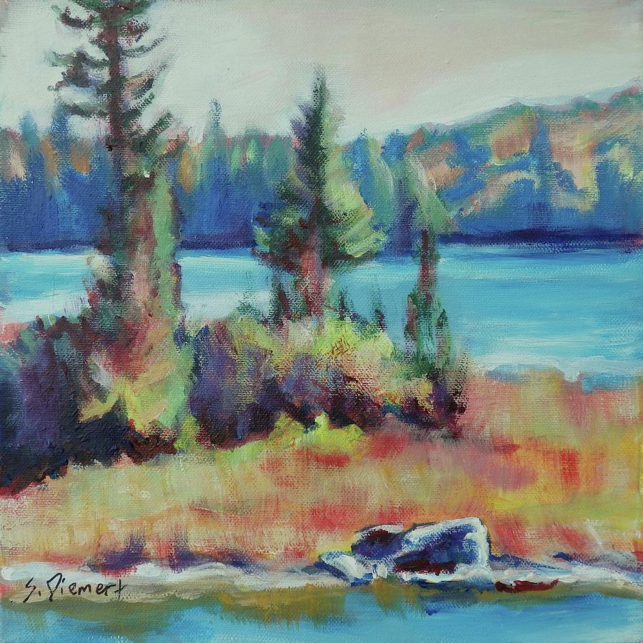 The Island - 003 Of Celebrate Canada 150 Painting