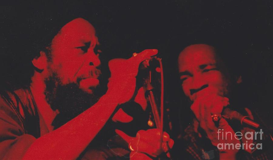 Reggae Music Photograph - The Itals by Mia Alexander