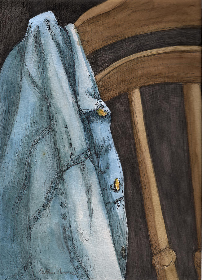 Interior Painting - The Jacket by Arthur Barnes
