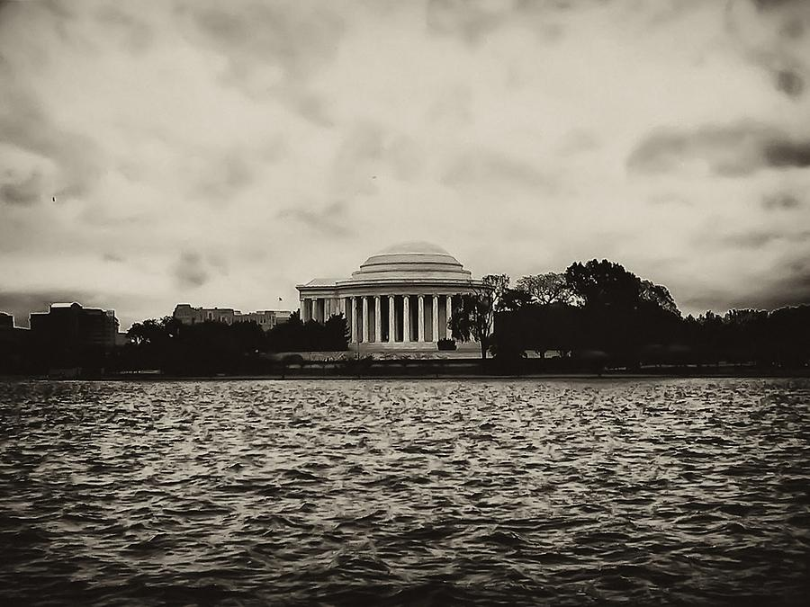 Potomac Photograph - The Jefferson Memorial by Bill Cannon