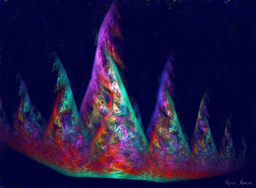 The Jesters Crown Digital Art by Rein Nomm