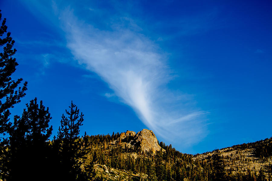 Acrylic Prints Photograph - The Jet Strean Up At 10000 Ft by Brian Williamson