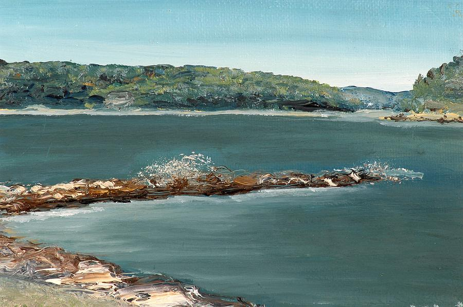Jetty Painting - The Jetty by Mimi Schlichter