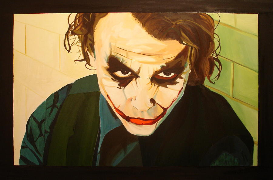 Joker Painting - The Joker by Ignacio Soto