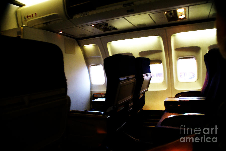 Airplane Photograph - The Journey Begins by Linda Shafer