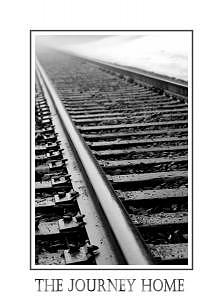 Railroad Photograph - The Journey Home by Kelly  Kane