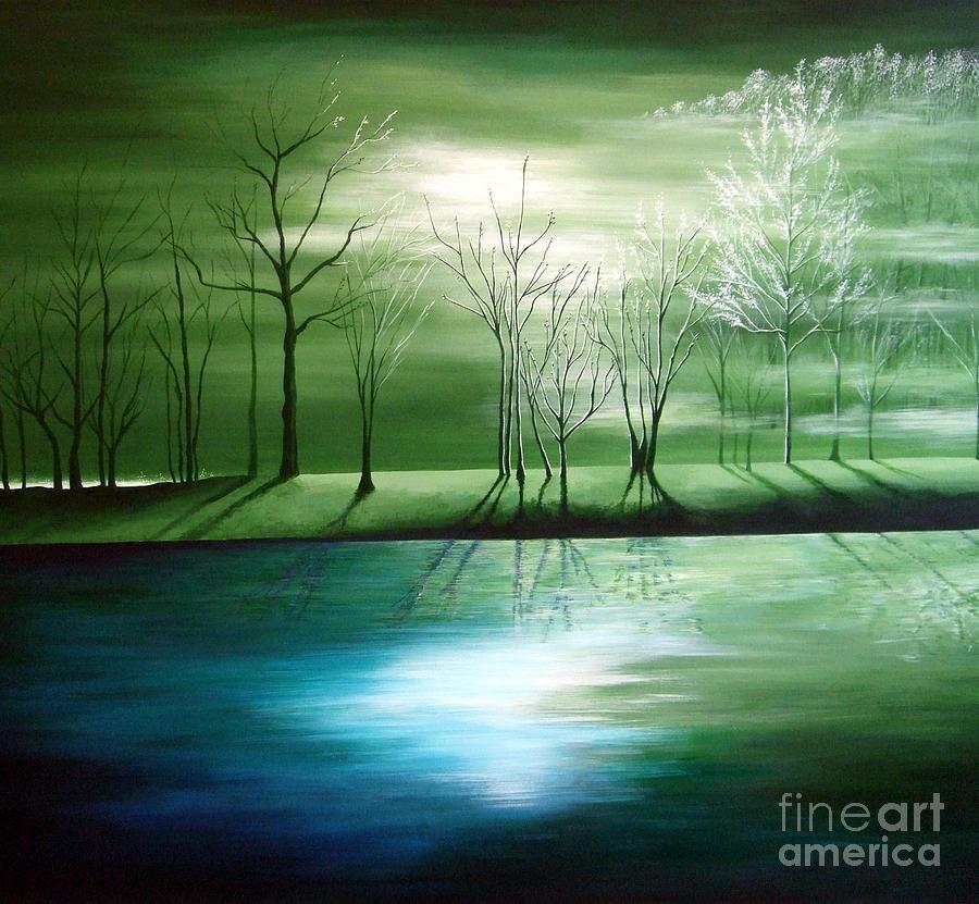 Landscape Painting - The Journey by Julia Underwood