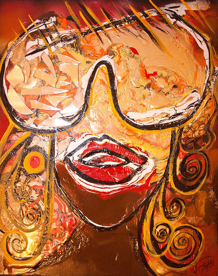 Glasses Painting - The Journey Through My Glasses by Artista Elisabet